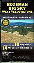 Bozeman | Big Sky | West Yellowstone Outdoor Recreation Map