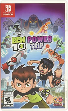 Outright Games Ben 10 Power Trip - Nintendo Switch