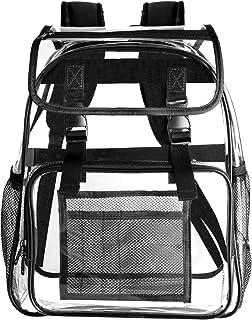 Amazoncom Clear Backpacks Luggage Travel Gear Clothing