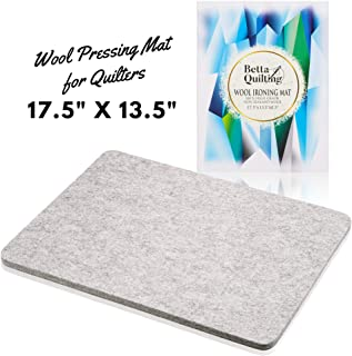 Wool Ironing Mat for Quilting - 17.5