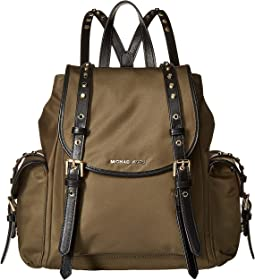 66e86d5a4a MICHAEL Michael Kors. Leila Small Flap Backpack.  298.00. New. Olive