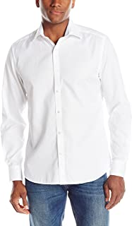 Men's Essential Tonal Stripe Long Sleeve Shirt
