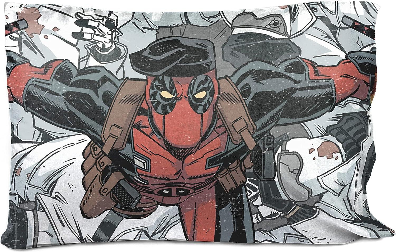 Jay discount Franco Marvel Deadpool Bite - 35% OFF Me Pillowcase Double-Si Single