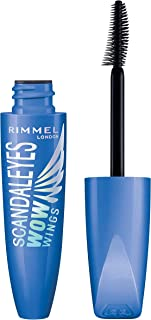 Rimmel London Scandaleyes Wow Wings Mascara, Waterproof Black, 12 ml