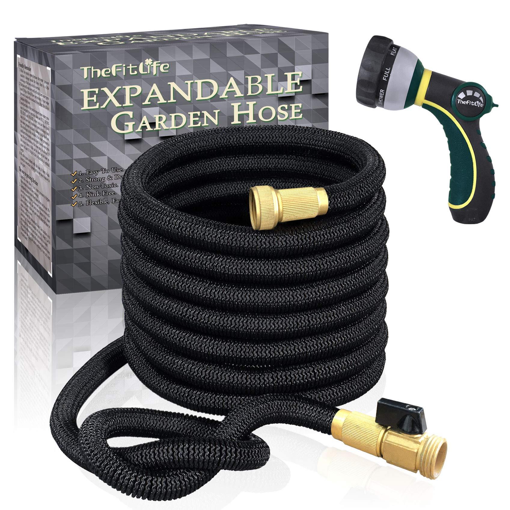 TheFitLife Flexible Expandable Garden Hose