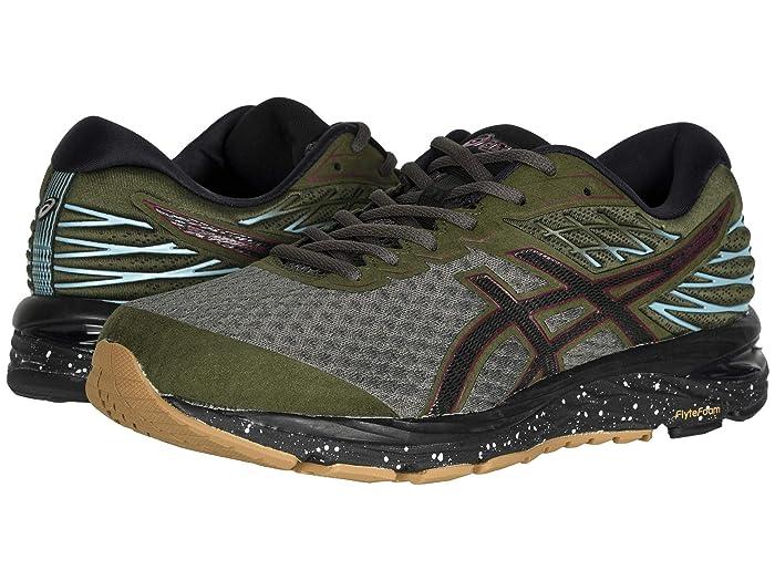 ASICS  GEL-Cumulus 21 (Olive Canvas/Black) Mens Running Shoes