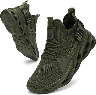 Nihaoya أحذية التنس للرجال تنفس رياضية أحذية رياضية خفيفة الوزن للتمرين المشي