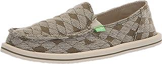 Sanuk Womens 1095180 Donna Quilt Green Size: