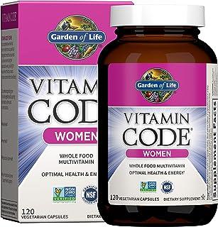 Garden of Life Multivitamin for Women, Vitamin Code Women's Multi, Whole Food Womens Multi,...