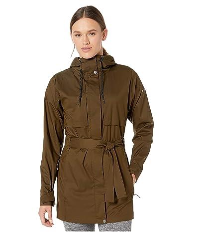 Columbia Pardon My Trenchtm Rain Jacket (Olive Green) Women