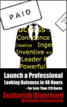 Launch a Professional Looking Business in 48 Hours: For Less Than 120 Bucks