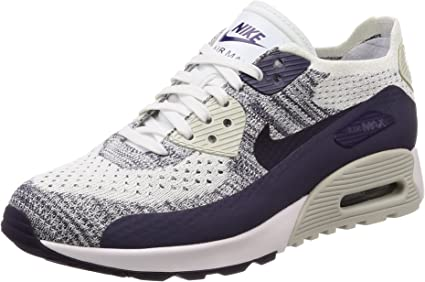 Nike 881109 Air Max 90 Ultra 2.0 Flyknit Baskets pour femme Blanc ...