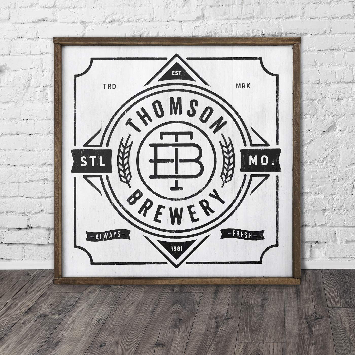 CUSTOM FAMILY BREWERY SIGN. sign. beer Vintage Sale Special Ranking TOP17 Price Personalized