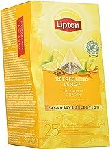 Lipton Selección Exclusiva Té Negro Limón - 6 Cajas Con 25 Pirámides