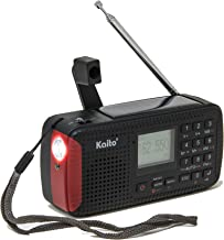 Kaito KA680 Pocket Digital AM/FM NOAA Weather Emergency Radio with Location-Specific Public Emergency Alert, Bluetooth, MP3 Player & Recorder