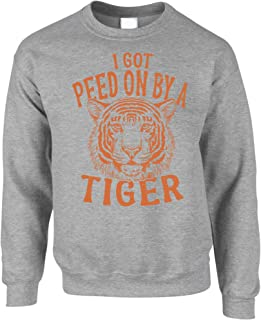 Funny Jumper I Got Peed On by A Tiger Sweatshirt Sweater