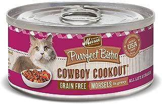 Merrick Purrfect Bistro Grain Free Cat Recipes Cowboy Cookout