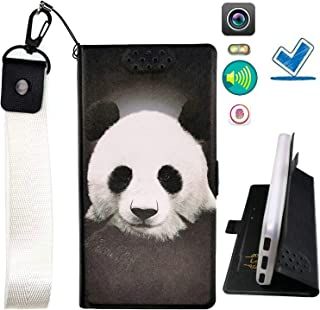 Lovewlb Case for Blu Vivo Go V2.0 Cover Flip PU Leather + Silicone Ring case Fixed PTXM