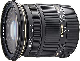 Sigma 17-50mm f/2.8 EX DC OS HSM FLD Large Aperture Standard Zoom Lens for Canon Digital DSLR Camera