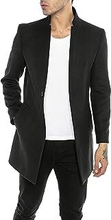Redbridge Cappotto da Uomo elegante Giacca lunga invernale Slim Fit Understatement