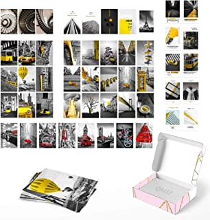 Wall Collage Kit 50 Set 4x6 inch | Aesthetic Wall Collage Kit Prints | Photo Collage Kit Boho Decor for Bedroom | Aestheti...