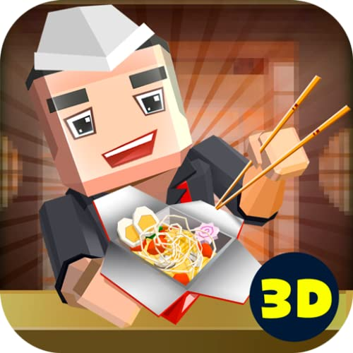 Chinese Food Cooking Cafe World: Rice and Noodles WOK Chef Cooking King | Fast Food Restaurant Pixel Cooking Dash