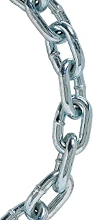 200 Length 2//0 Trade 0.18 Diameter 450 lbs Load Capacity Zinc plated Campbell 0309526 Low Carbon Steel Passing Link Chain in Square Pail in Square Pail