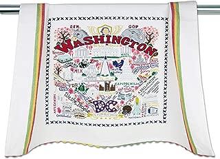Catstudio Washington DC Dish & Hand Towel | Beautiful Award Winning Home Decor Artwork | Great For Kitchen & Bathroom