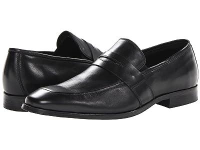 Florsheim Jet Penny Slip-On (Black) Men
