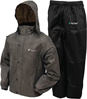 FROGG TOGGS Men's All Sport Rain Suit Rainwear (pack of 2)