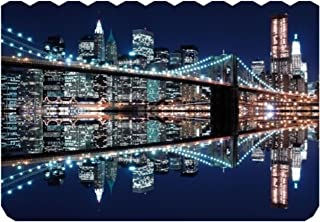 Wentworth New York City At Night Wooden 250 Piece Jigsaw Puzzle
