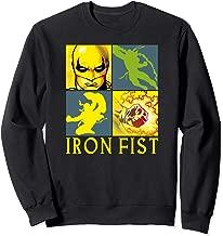 Marvel Iron Fist The Immortal Weapon Squared Sweatshirt