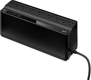 APC by Schneider Electric UPS, 850VA UPS Battery Backup & Surge Protector, BE850G2 Backup Battery, 2 USB Charger Ports, Ba...
