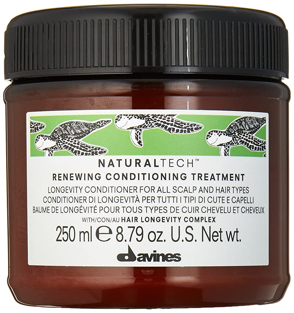 メジャーキャッチ医薬品ダヴィネス Natural Tech Renewing Conditioning Treatment (For All Scalp and Hair Types) 250ml/8.79oz並行輸入品