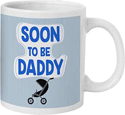 TIED RIBBONS Baby Shower Gift for Dad to Be, Would Be Dad, Brother, Friend Printed Coffee Mug (325 ml)