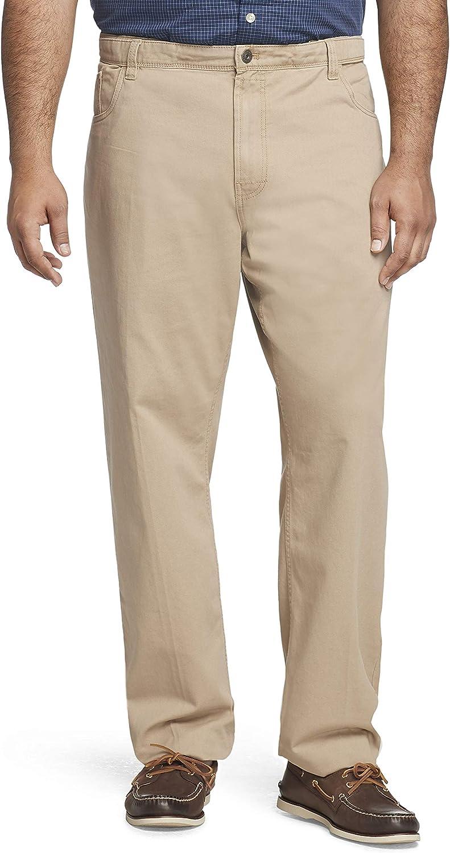 Van Heusen Men's Big & Tall 5 Pocket Straight Fit Pant