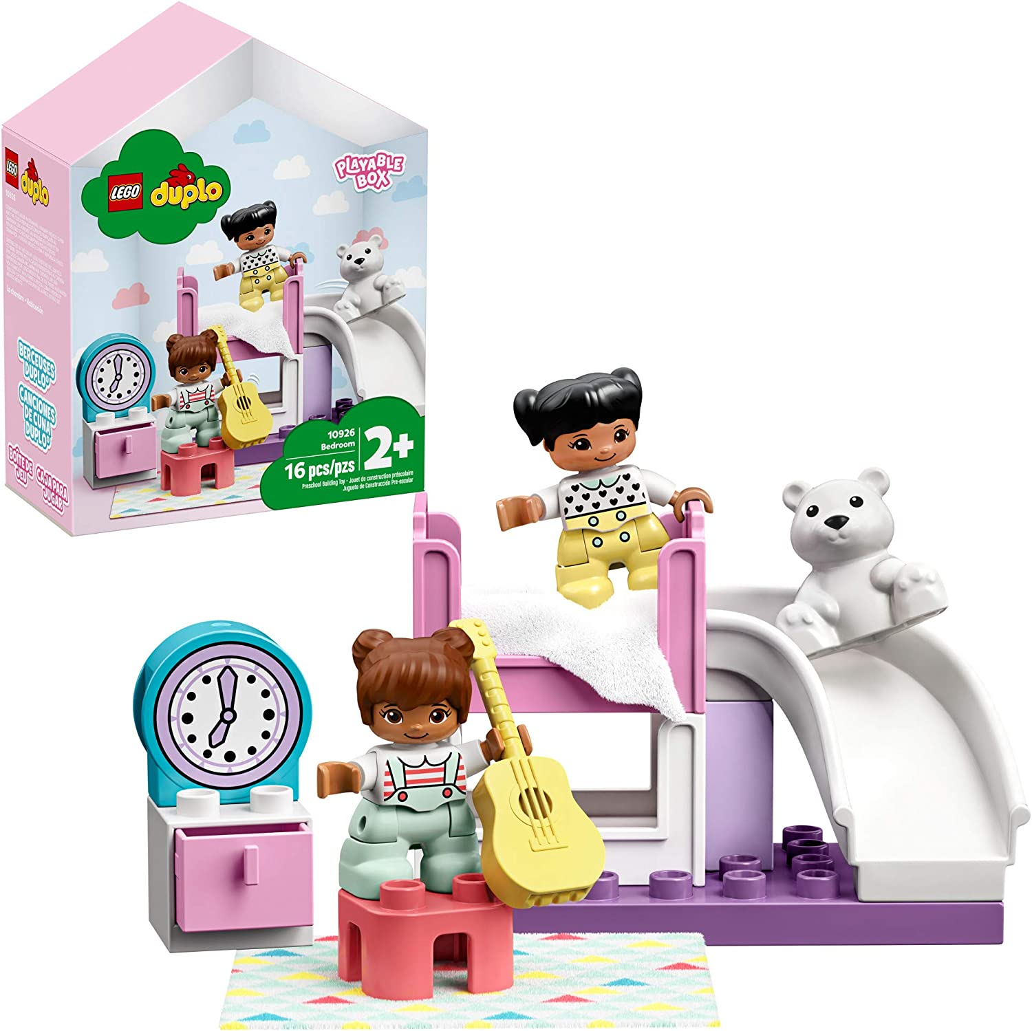 LEGO DUPLO Town Bedroom Max 64% OFF 10926 Play Kids' Devel Set Animer and price revision Pretend