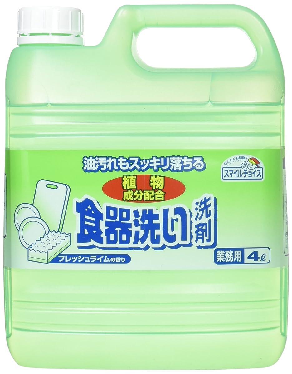 省かみそりアナログスマイルチョイス 食器洗い洗剤 業務用 4L