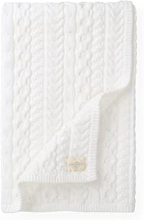 Hope & Henry Layette Cable Blanket