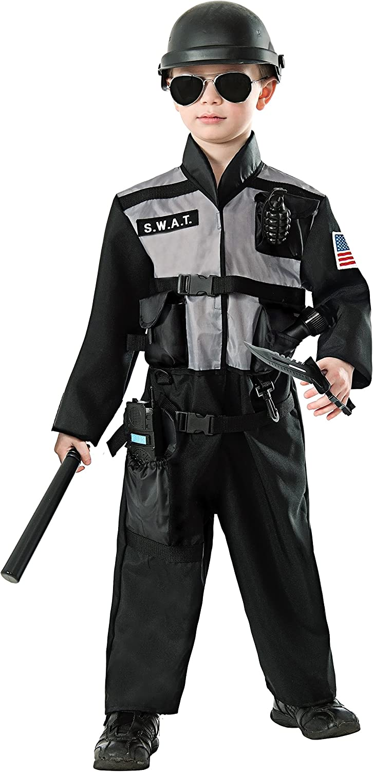 FORUM Novelties S.W.A.T. Jumpsuit Costume, Small