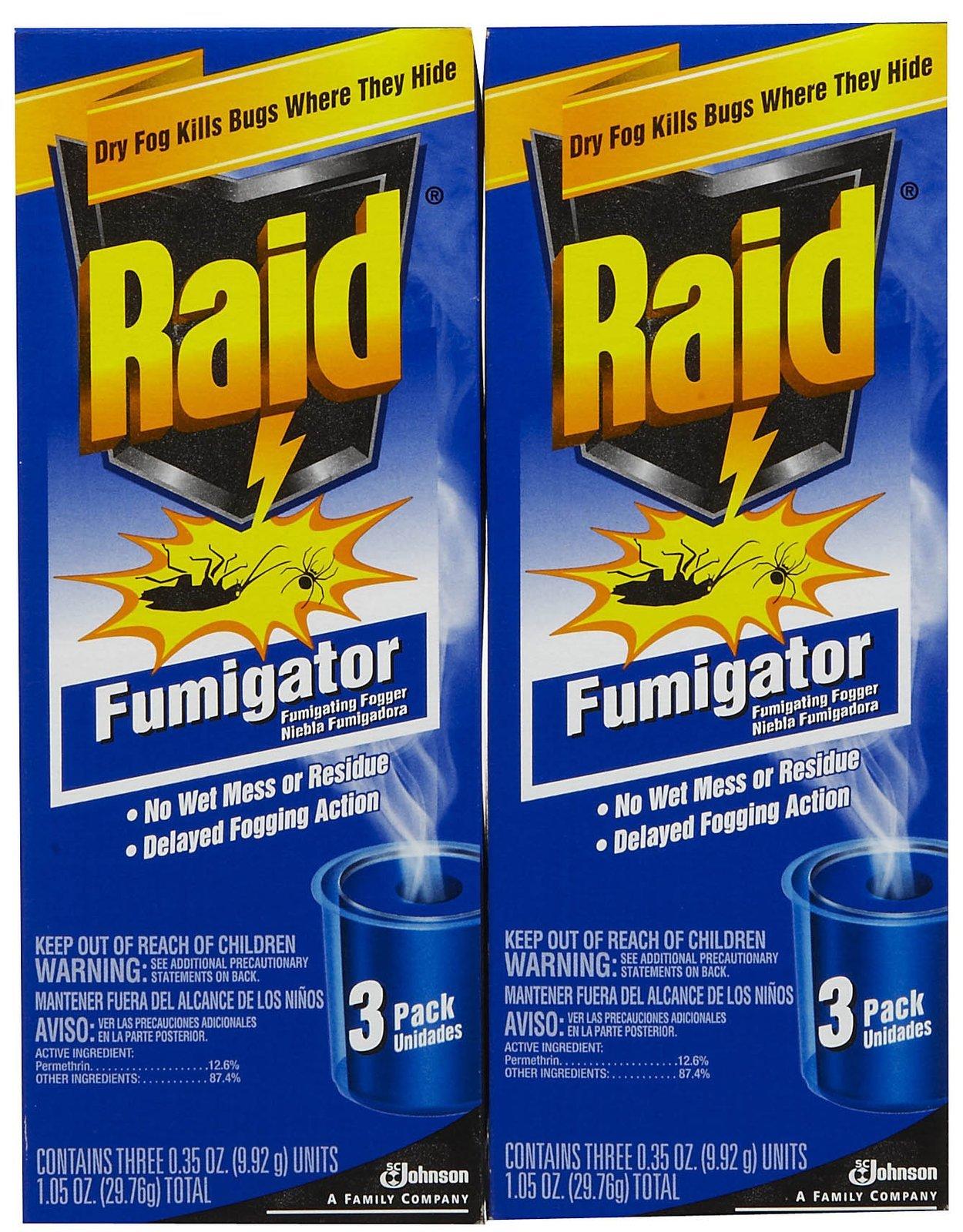 Raid ASJ 011B Fumigator Triple