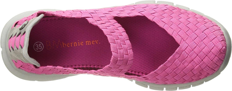 Bernie Mev Unisex-Kid's Charm K Mary Jane Flat, hot Pink, 28-35 M M EU Big Kid (28 US)