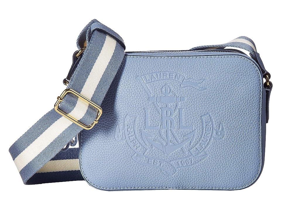 c02fb51b1ef5 LAUREN Ralph Lauren Huntley Camera Bag (Blue Mist) Handbags