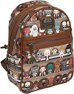 Loungefly Mos Eisley Catina Characters Faux Leather Backpack Standard