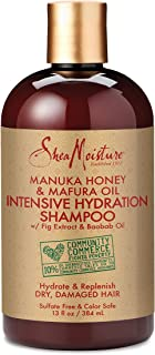 SheaMoisture Manuka Honey & Mafura Oil Intensive Hydration Shampoo | 13 oz