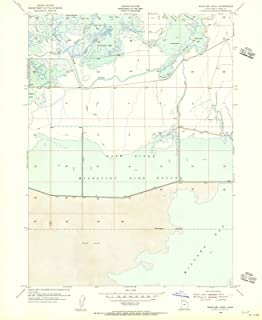 Utah Maps - 1954 Whistler Canal, UT USGS Historical Topographic Map - Cartography Wall Art - 35in x 44in