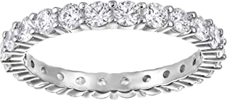 SWAROVSKI Women's Vittore Sparkling Crystal Ring Collection