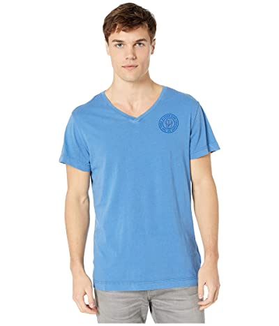G-Star Graphic 18 Loose T-shirt (Dark Delta Blue) Men