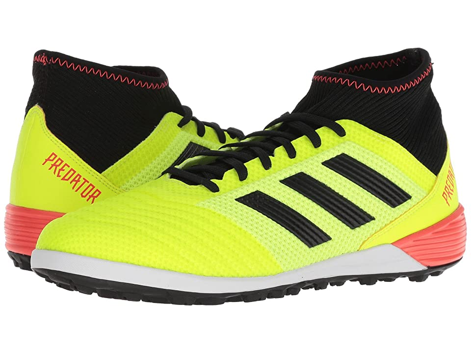 adidas Predator Tango 18.3 TF (Solar Yellow/Black/Solar Red) Men's Soccer Shoes, Green