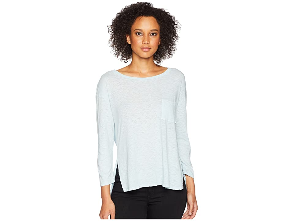 Three Dots Eco Knit Top (Cool Mist) Women